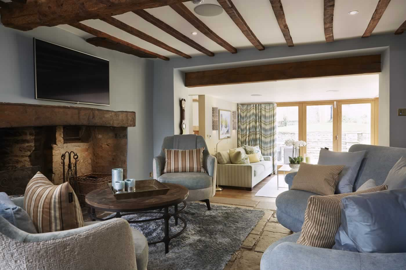 Country Cottage Cotswolds Anne Haimes Interior Design