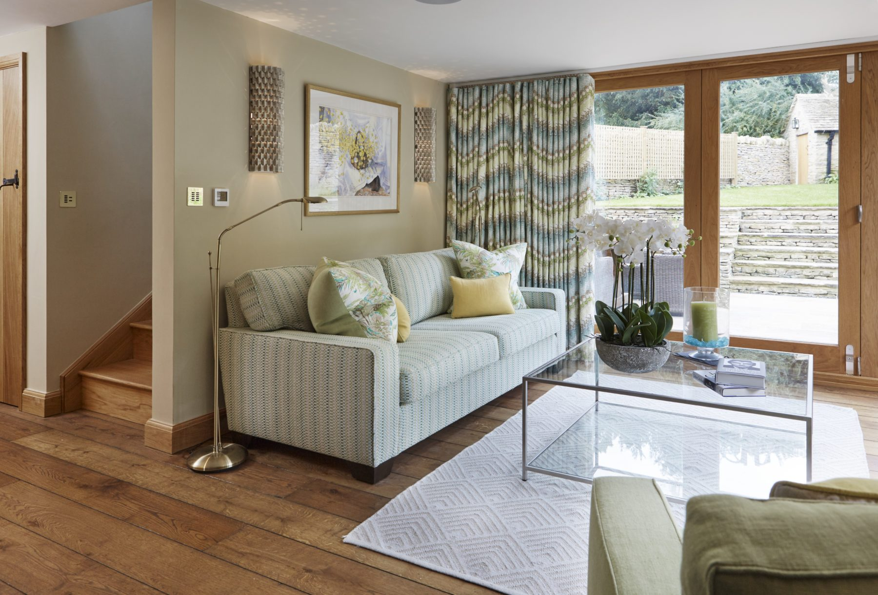 The Cotswolds Living Room Close-Up Interior Design